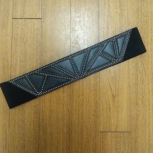 H&M stretch waist belt